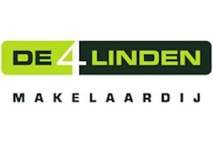 De 4 Linden Makelaardij logo